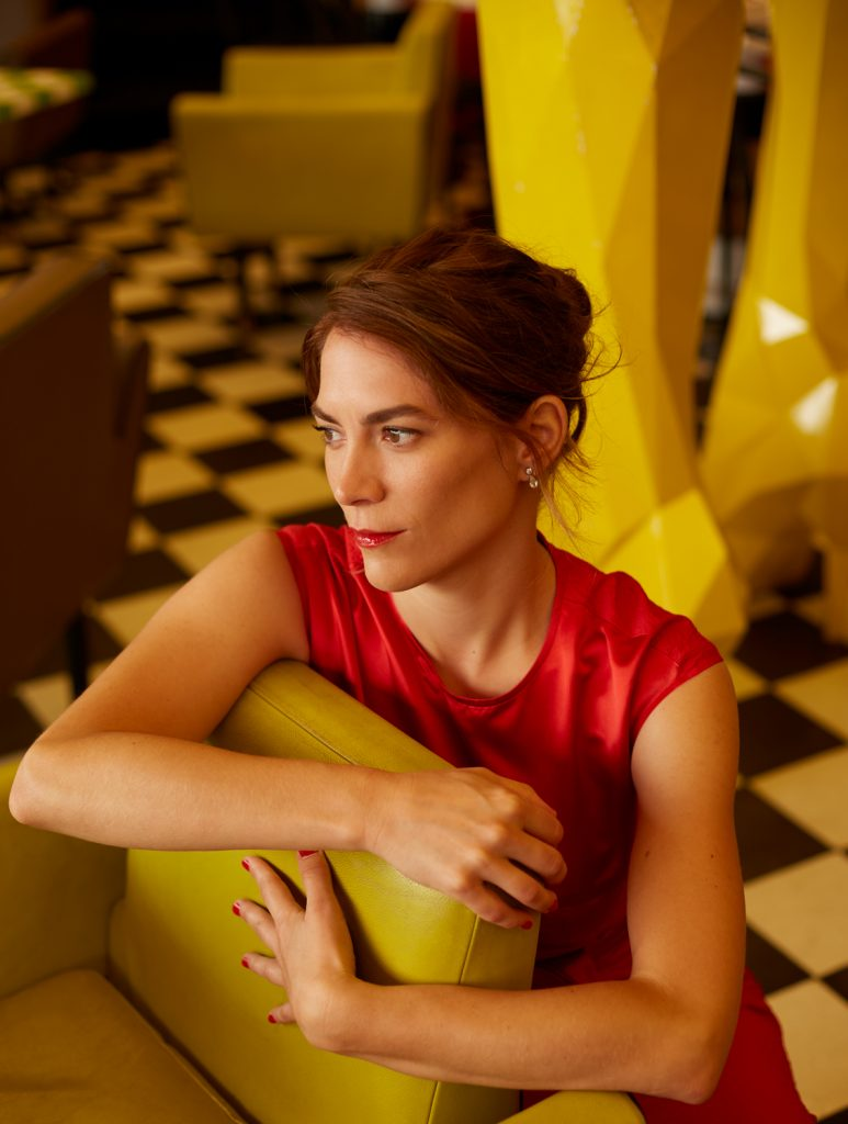 Isabelle Seleskovitch chanteuse jazz portrait