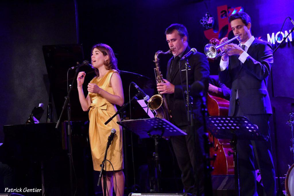 Isabelle Seleskovitch David Sauzay Fabien Mary en concert au Jazz Café Montparnasse