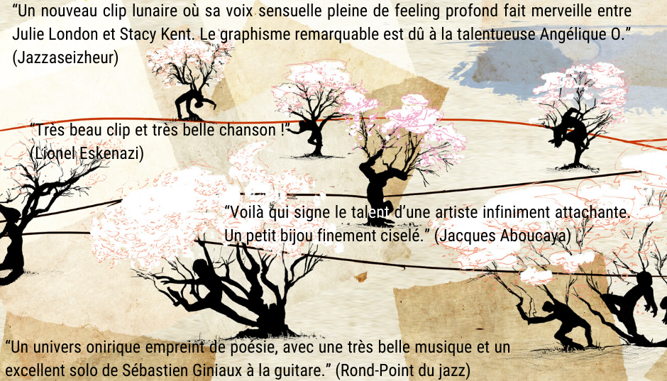 presse clip Almond Trees